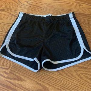 NWOT, Justice mesh shorts, Size 12